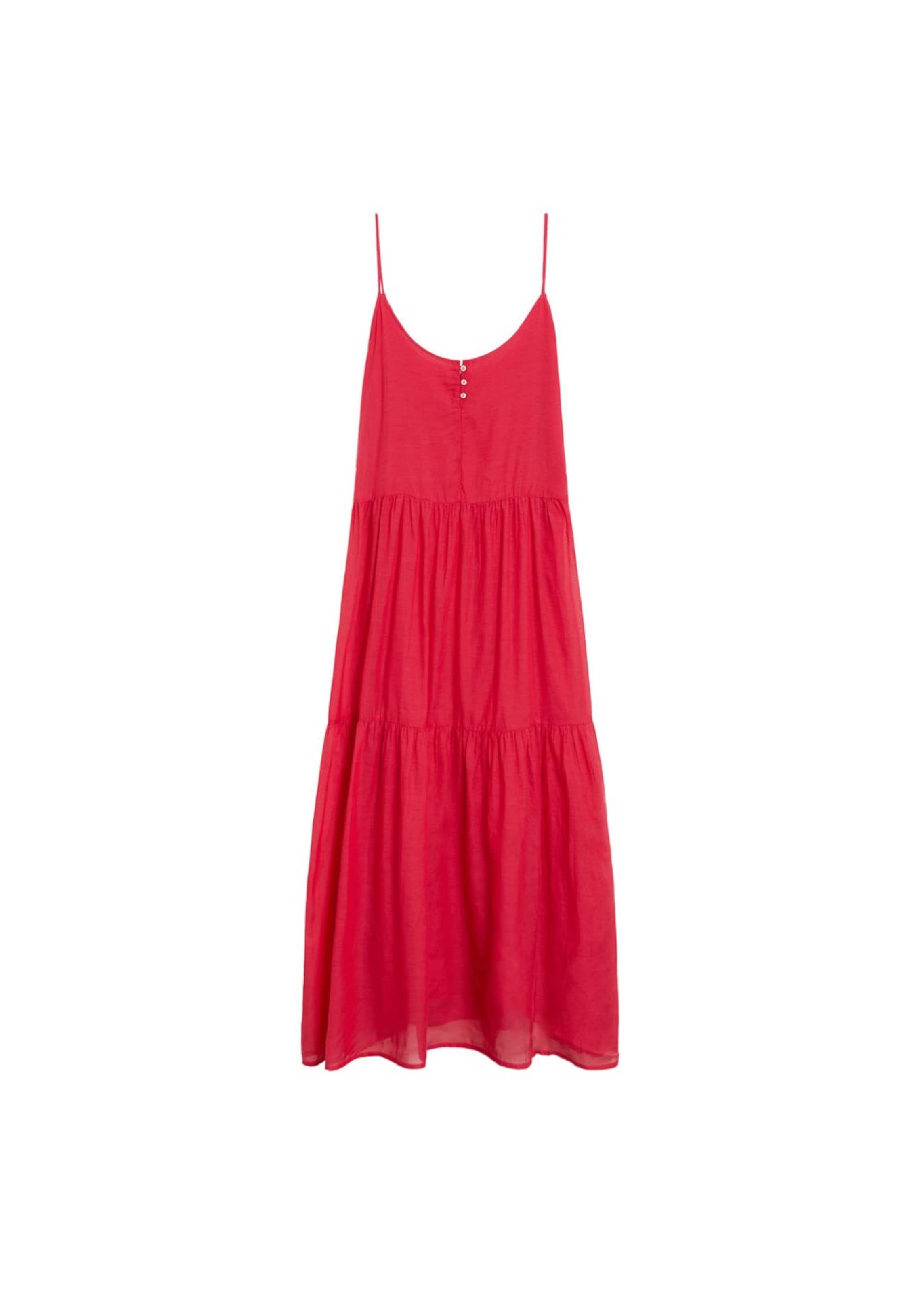 MANGO Kleid in fuchsia