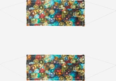Mască de stofă '2er Pack Space Flower' Zwillingsherz pe culori mixte / negru, Vizualizare produs