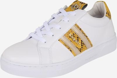 bugatti Trampki niskie 'Elea' w kolorze żółty / białym, Podgląd produktu
