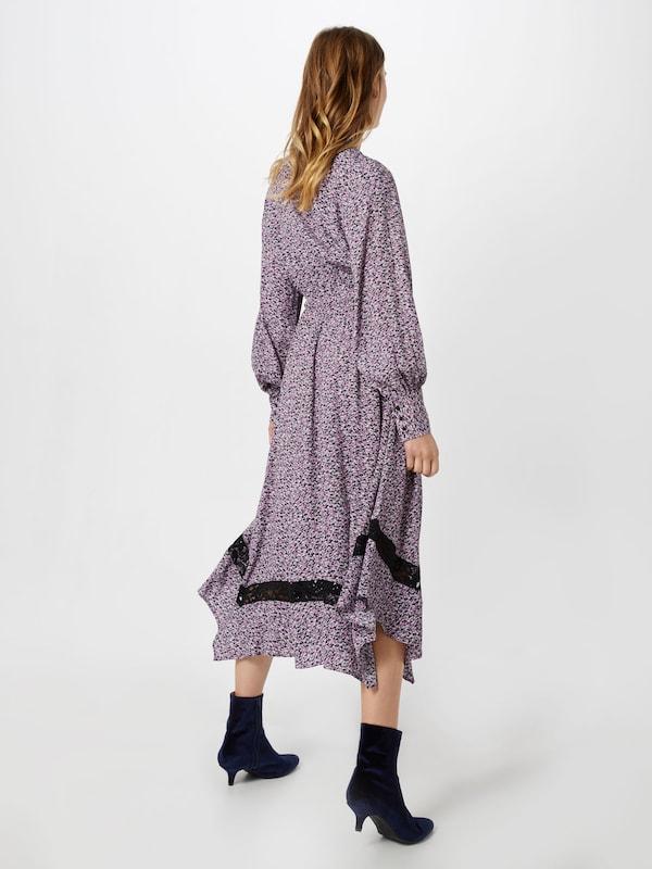 En Just Female chemise VioletNoir Robe 'aida' SUVpqMGLz