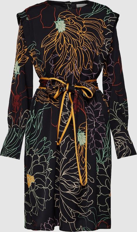 POSTYR Kleid 'LIVIA' in Gold   schwarz  Markenkleidung Markenkleidung Markenkleidung für Männer und Frauen d69bc9