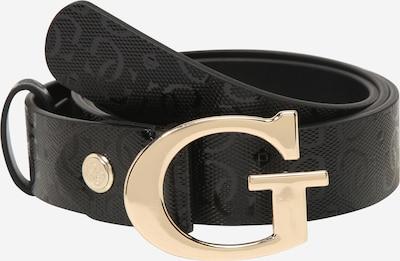 GUESS Gürtel 'ASTRID ADJUSTABLE PANT' in gold / schwarz, Produktansicht