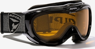 Alpina Skibrille 'Freespirit' in schwarz, Produktansicht