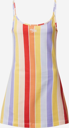 Nike Sportswear Zomerjurk in de kleur Gemengde kleuren / Rood, Productweergave