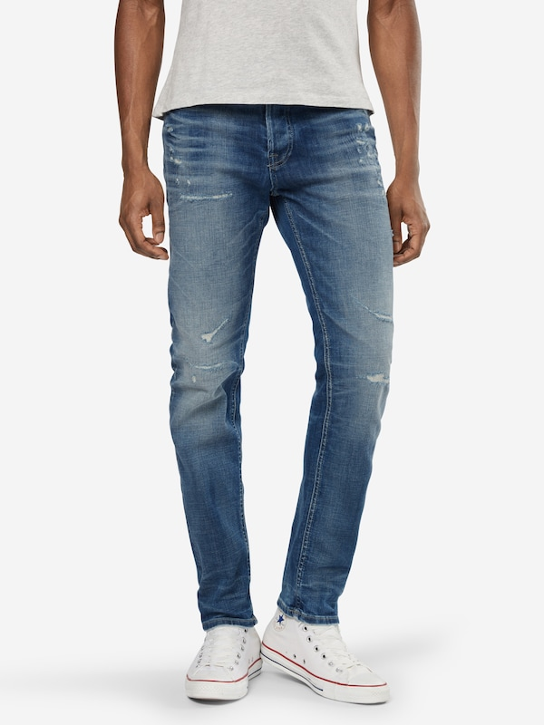 Jjoriginal En 'jjitim Noos' Bleu Jean 062 Denim Jackamp; Jj Aw24 Jones mNvnwO80