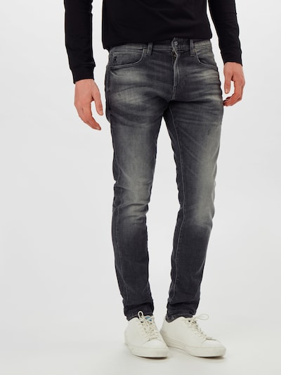 G-Star RAW Jeans '4101 Lancet Skinny' in black denim, Modelansicht