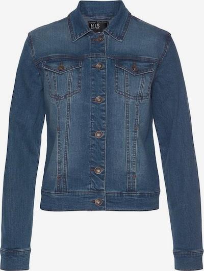 HIS JEANS Jeansjacke in blau, Produktansicht