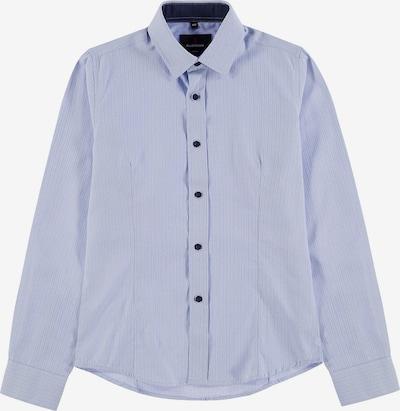 G.LEHMANN Kinder Langarmhemd Slim Fit in blau, Produktansicht