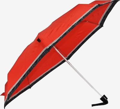 KNIRPS Taschenschirm in rot / schwarz, Produktansicht