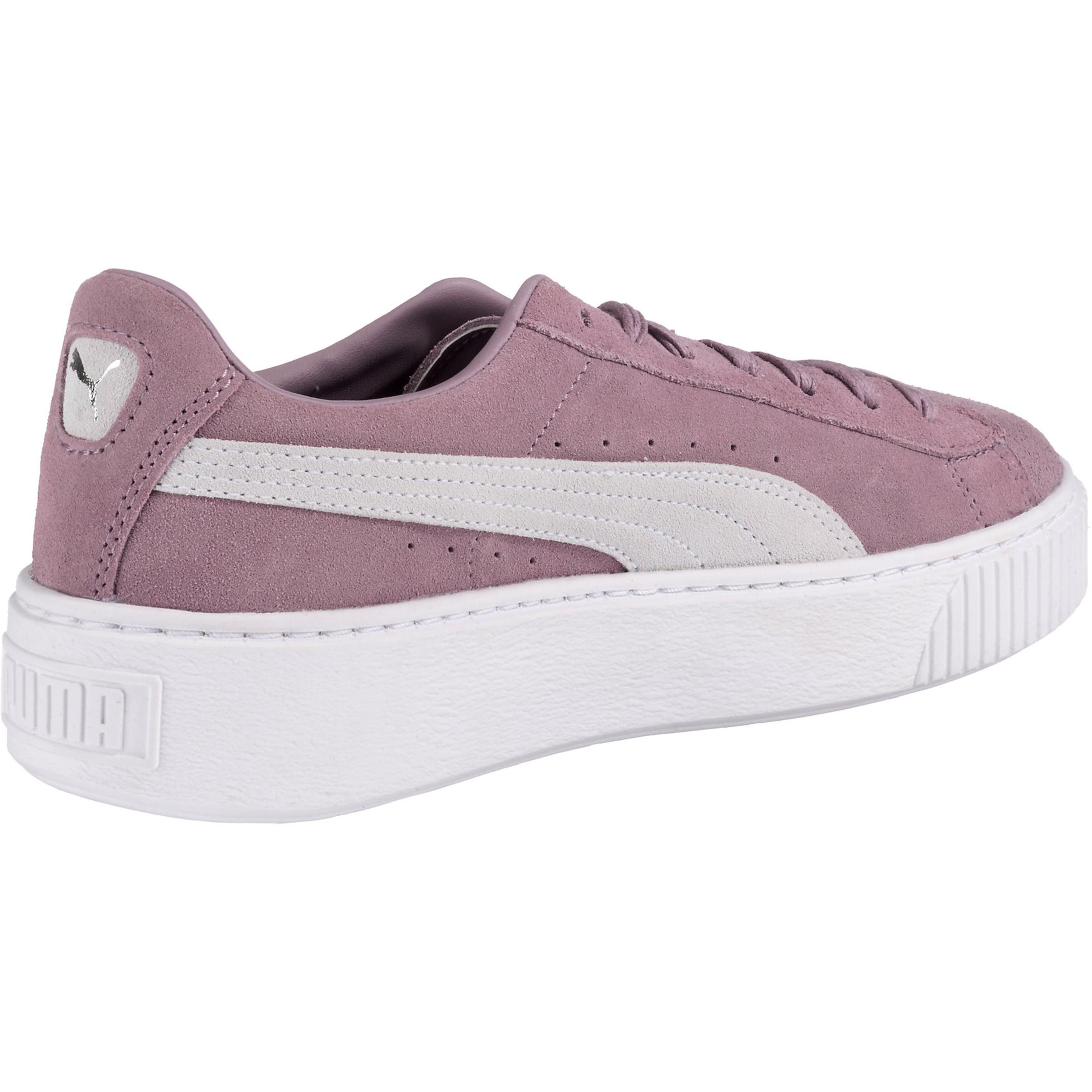 Puma In Sneaker Sneaker Puma 'suede' HelllilaWeiß 08XPnwOk