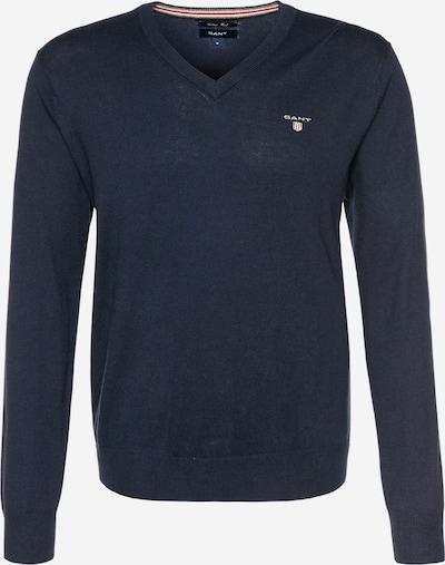 GANT Pullover mit V-Ausschnitt in navy, Produktansicht