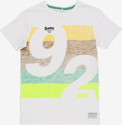 NAME IT Shirt in mischfarben / weiß, Produktansicht