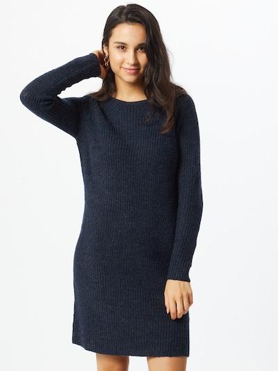 VILA Pletena obleka 'Suril'   mornarska barva, Prikaz modela