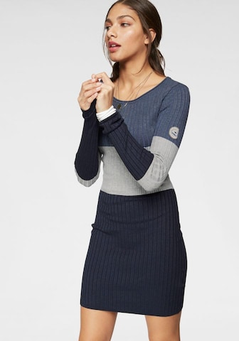 KangaROOS Knitted dress in Mixed colors