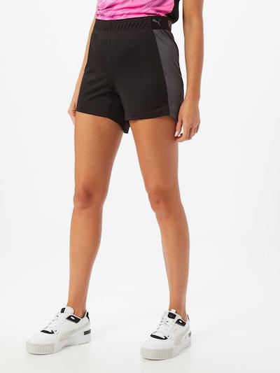 PUMA Pantalon de sport en gris / noir: Vue de face