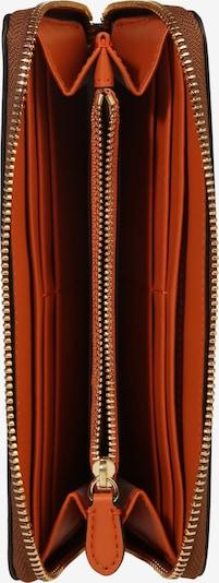 Lauren Ralph Lauren Porte-monnaies en marron / orange, Vue avec produit