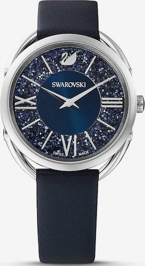 Swarovski Uhr in blau / silber, Produktansicht