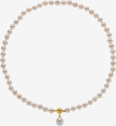 CHRIST Perlenkette in nude / weiß, Produktansicht