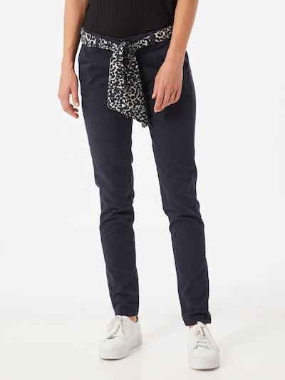 Le Temps Des Cerises Pantalon 'Lidy 7' en bleu marine, Vue avec modèle