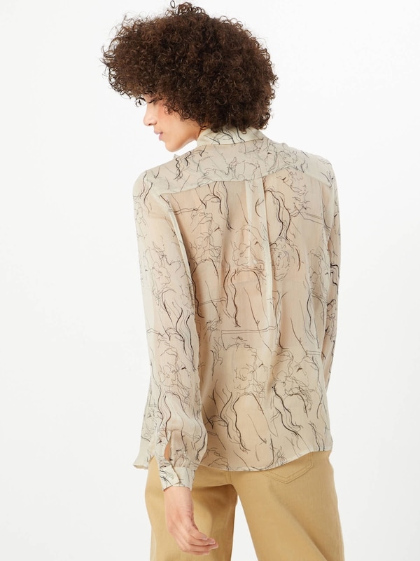'love324' Loveamp; Crème In Divine Blouse rBxWoCed