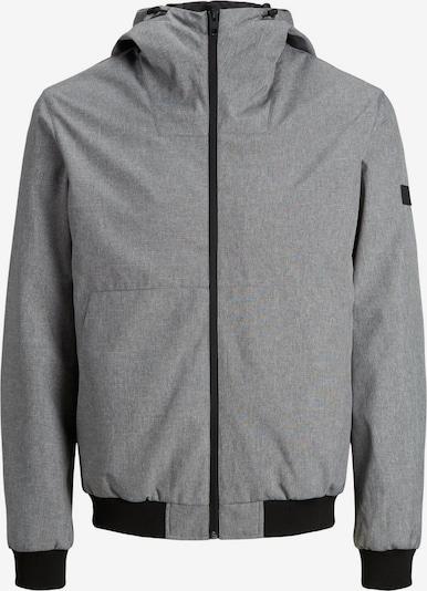 JACK & JONES Prechodná bunda - sivá / čierna, Produkt