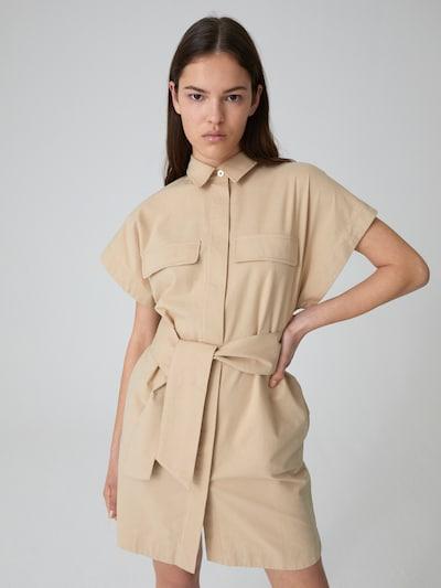 EDITED Kleid 'Brenda' in beige, Modelansicht