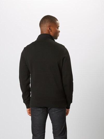 Megztinis be užsegimo iš LACOSTE , spalva - juoda: Vaizdas iš galinės pusės
