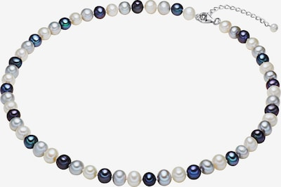 Valero Pearls Kette in blau / perlweiß, Produktansicht