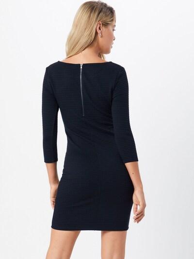 TOM TAILOR DENIM Kleid in schwarz: Rückansicht