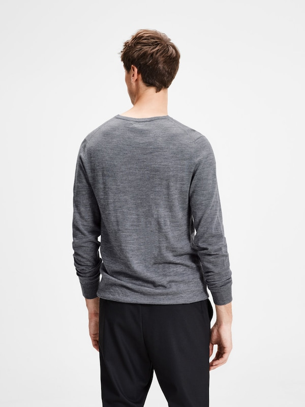 JACK & JONES Merinowoll-Strickpullover