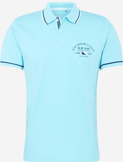 s.Oliver Shirt in blau / türkis / schwarz / weiß, Produktansicht