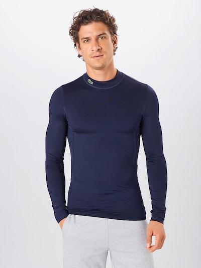 Lacoste Sport Funkční tričko - marine modrá: Pohled zepředu
