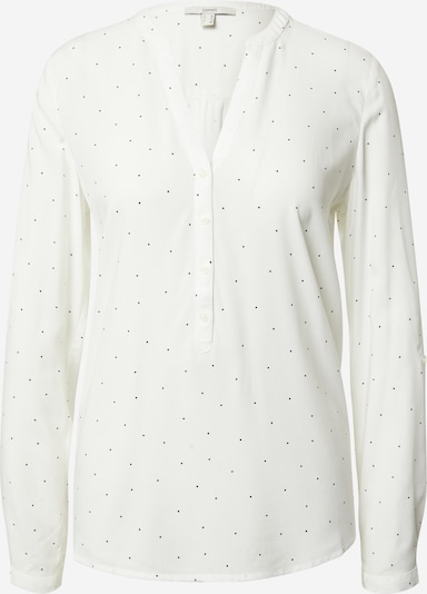 ESPRIT Blusa 'Core' en negro / blanco, Vista del producto