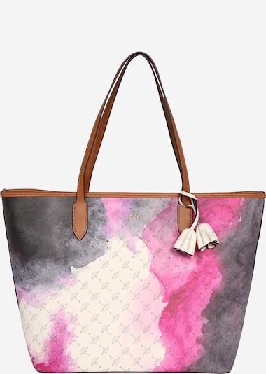JOOP! Shopper 'Cortina Fresco Lara' in de kleur Nude / Cognac / Antraciet / Pink, Productweergave