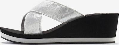 LASCANA Pantolette in silber, Produktansicht