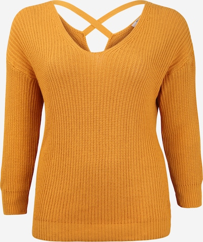 ABOUT YOU Curvy Pull-over 'Tabea' en jaune / moutarde, Vue avec produit