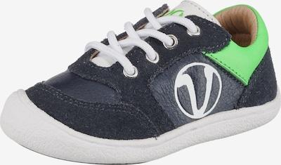 Vado Lauflernschuhe 'Sneak' in dunkelblau / kiwi / weiß, Produktansicht