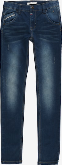 NAME IT Denimhose 'NKMTHEO' in blue denim: Frontalansicht
