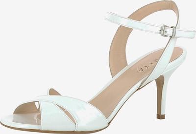 EVITA Sandales à lanières en blanc, Vue avec produit