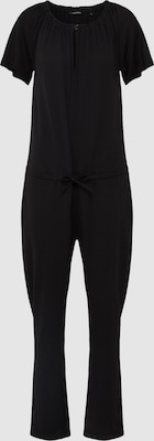 Marc O'Polo Jumpsuit 'Jersey Overall' in Zwart