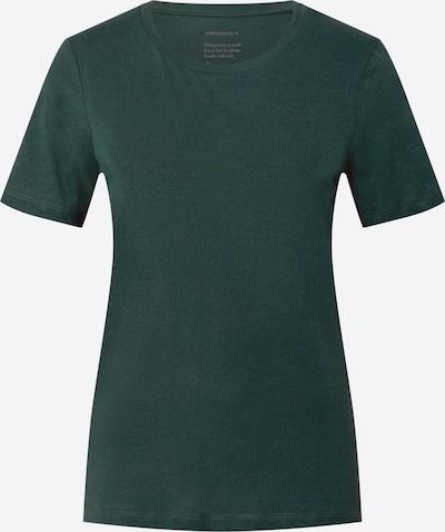 ARMEDANGELS Koszulka 'Lida' w kolorze ciemnozielonym: Widok z przodu