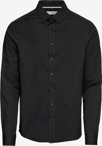 !Solid Риза 'Tyler LS' в черно
