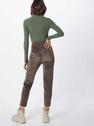 Kelnės 'Future 2.07' iš MAC , spalva - rusvai žalia: Vaizdas iš galinės pusės