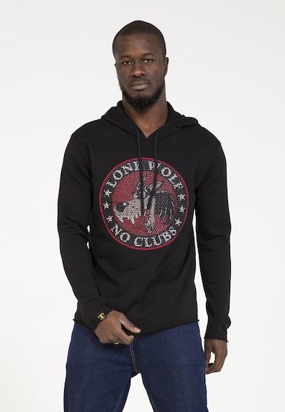 PLUS EIGHTEEN Sweat-shirt en noir, Vue avec produit