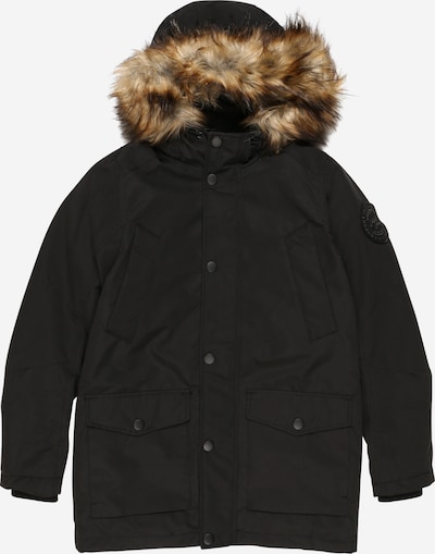 Jack & Jones Junior Jacke 'SKY' in hellbraun / schwarz, Produktansicht