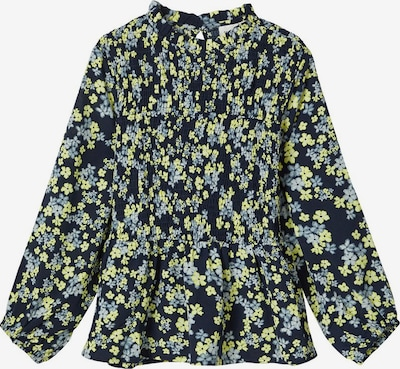NAME IT Bluse in nachtblau / opal / limone, Produktansicht