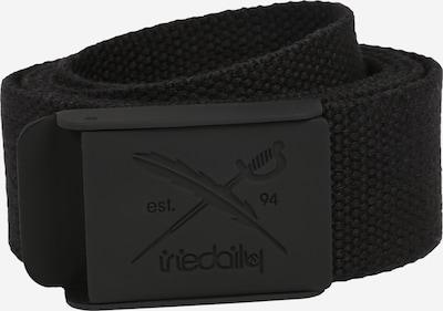 Iriedaily Gürtel in schwarz, Produktansicht
