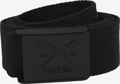 Iriedaily Riem 'Flag Rubber Belt' in de kleur Zwart, Productweergave