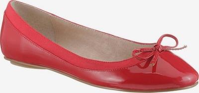 BUFFALO Ballerinas 'Annelie' in rot, Produktansicht