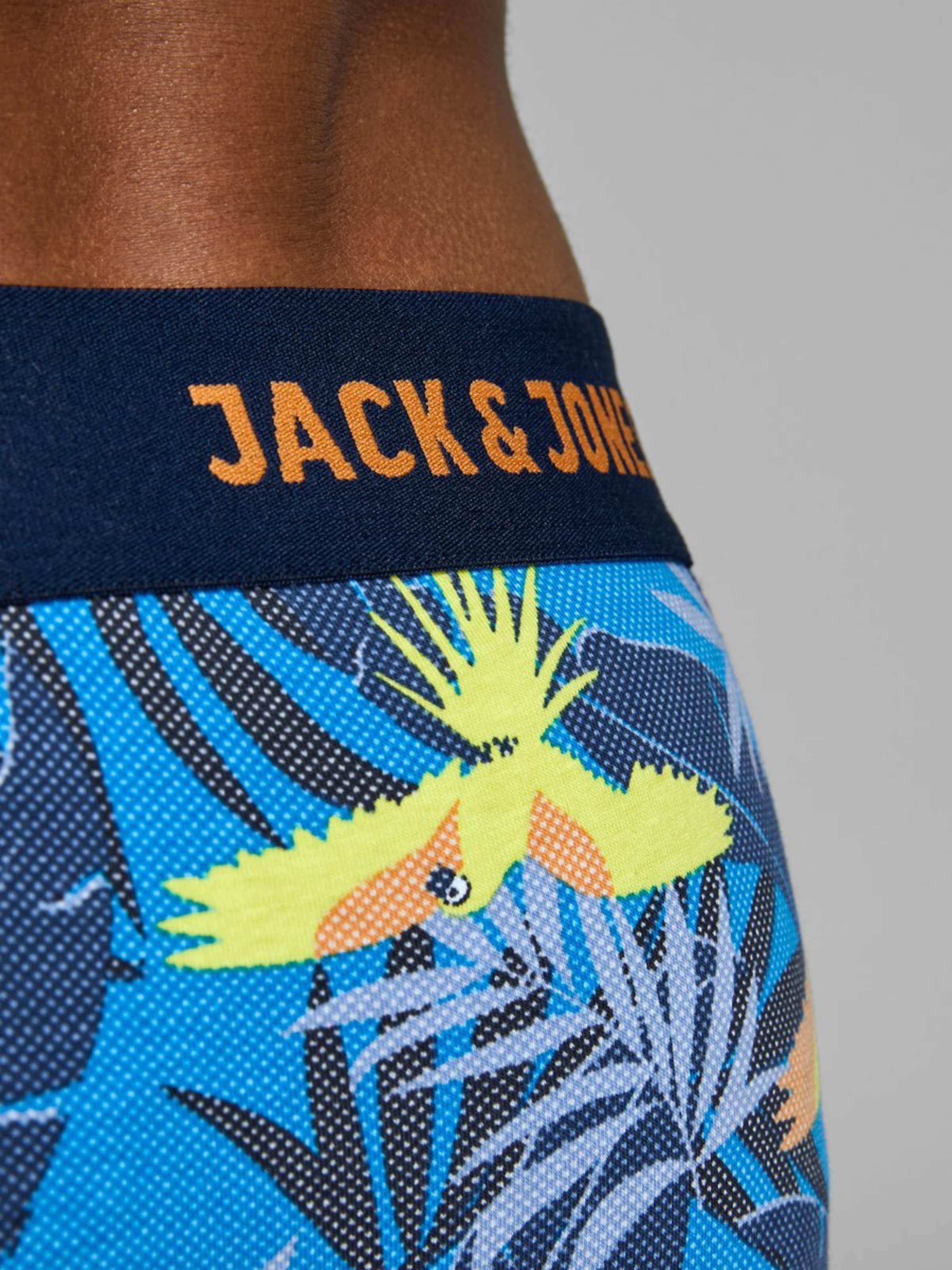 Jones Jackamp; En BleuMarine Boxers Turquoise n0v8mNwO